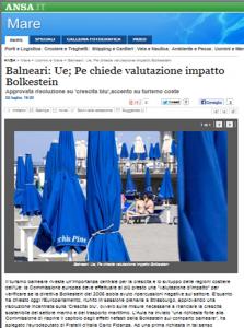ANSA_02.07.2013_VALUTAZIONE_IMPATTO_BOLKESTEIN