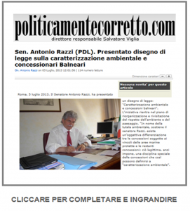 POLITICAMENTECORRETTO_05.07.2013_DISEGNO_LEGGE_RAZZI