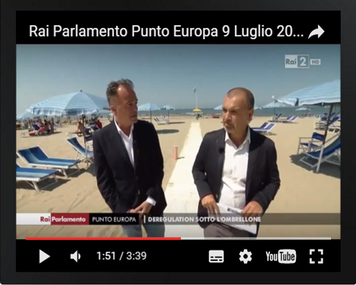 Rai parlamento punto europa comitato balneari liguria for Parlamento rai